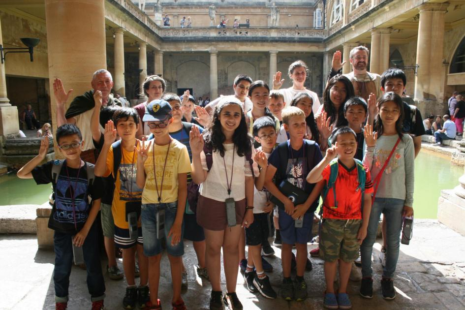 Roman Baths trip - desktop